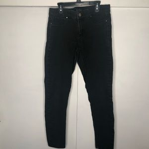 White House Black Market Black Skinny Jeans